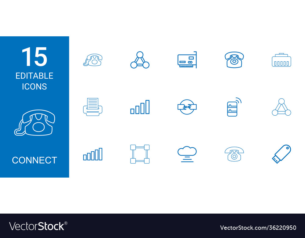 15 connect icons
