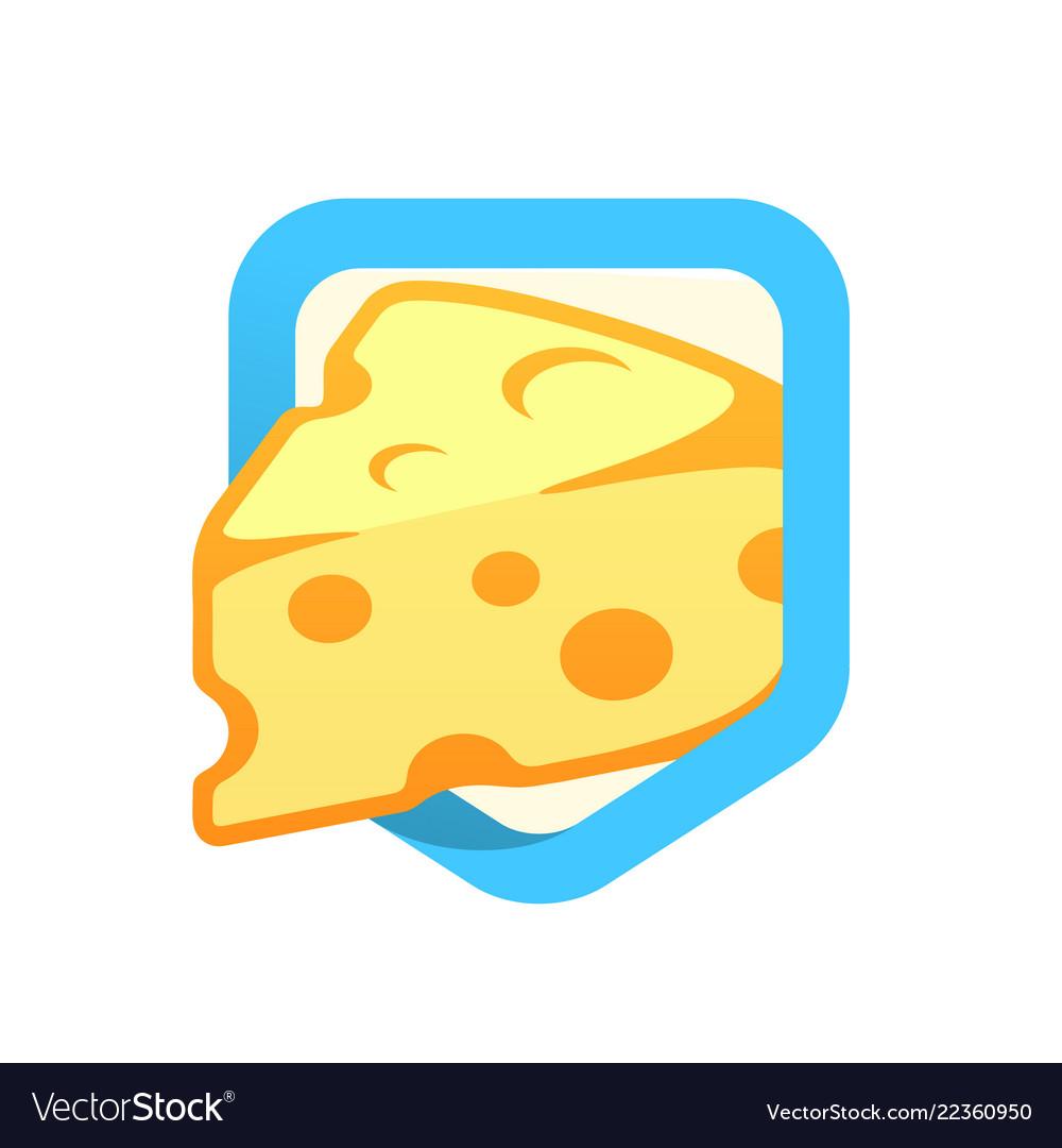 Cheese maasdam - logo