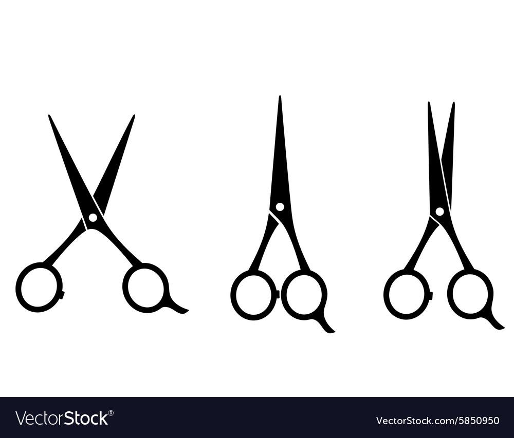 Hair Cutting Scissors Vector 4