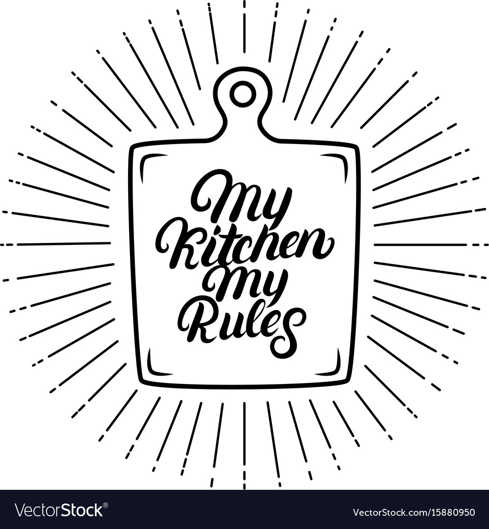 Kitchen & Rules Vector Images (34)