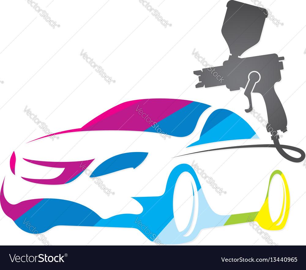 Painting of auto design