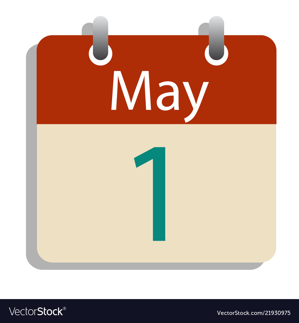1st may day calender labor day concept