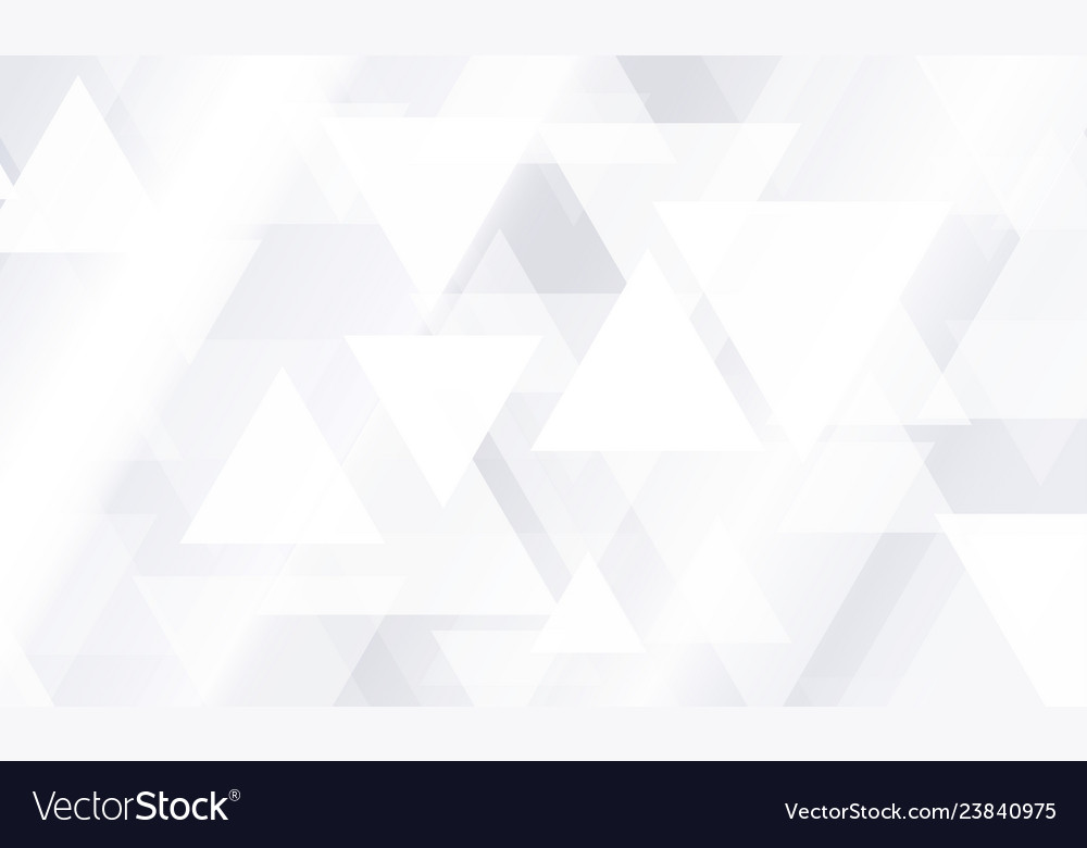 Geometric abstract background white and gray
