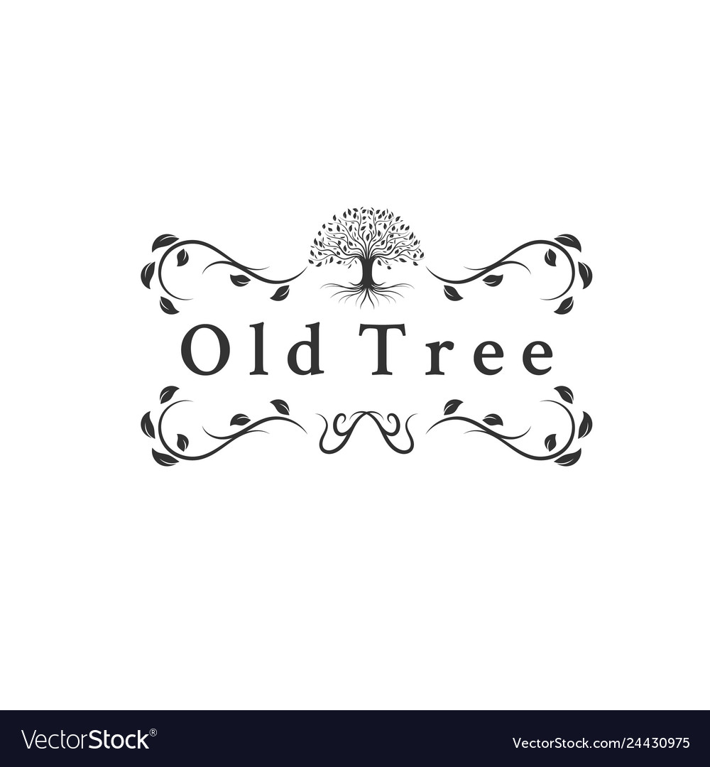 Old trees logo designs