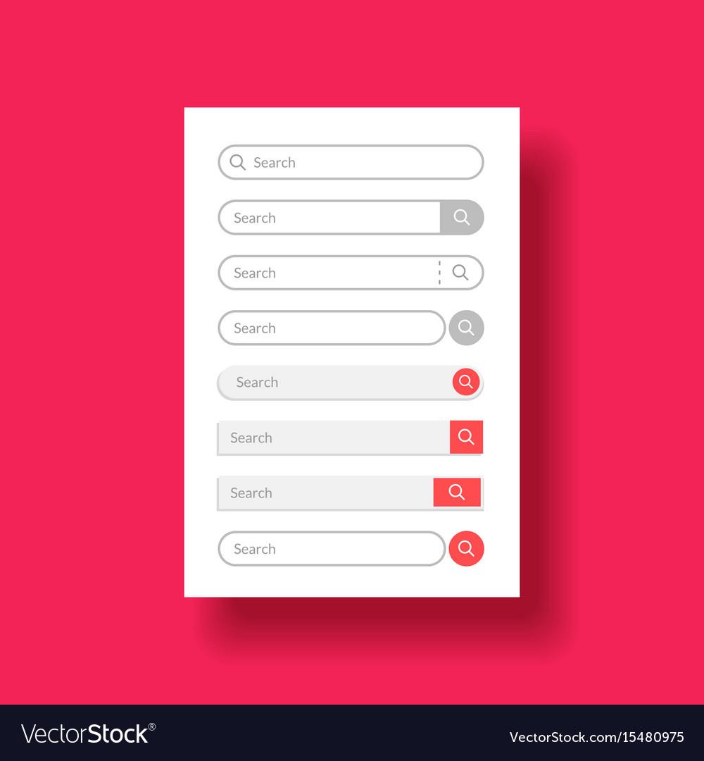 Set design element for web or mobile user