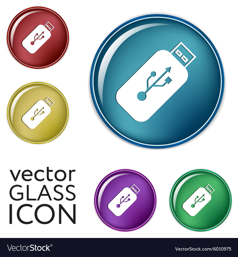 Usb flash icon disk