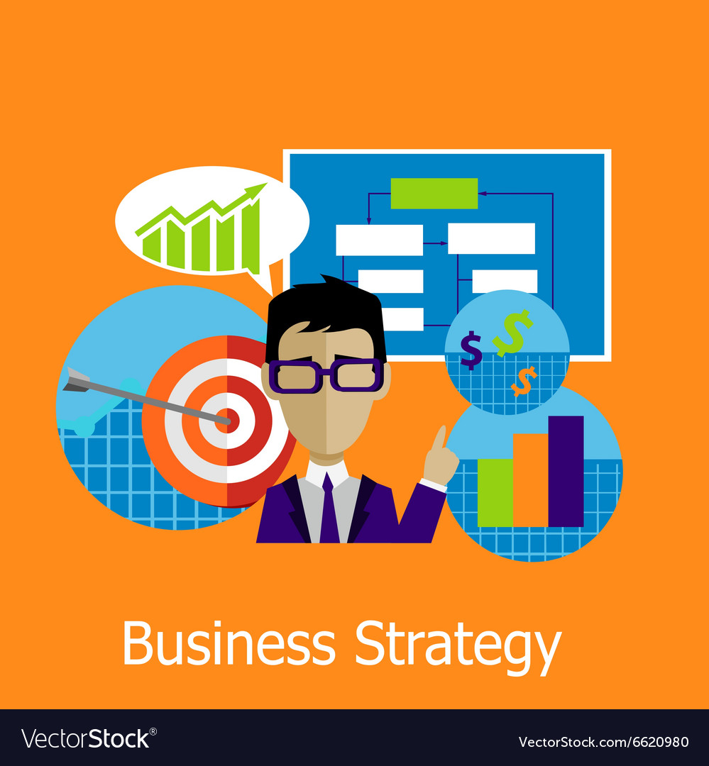 Business Strategy Concept Design Style