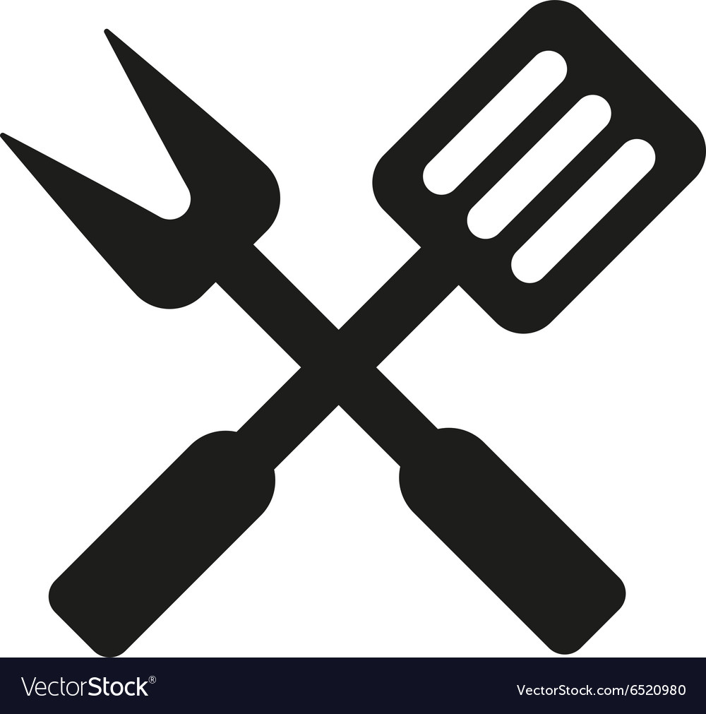 The bbq icon Barbecue and kitchen cook symbol