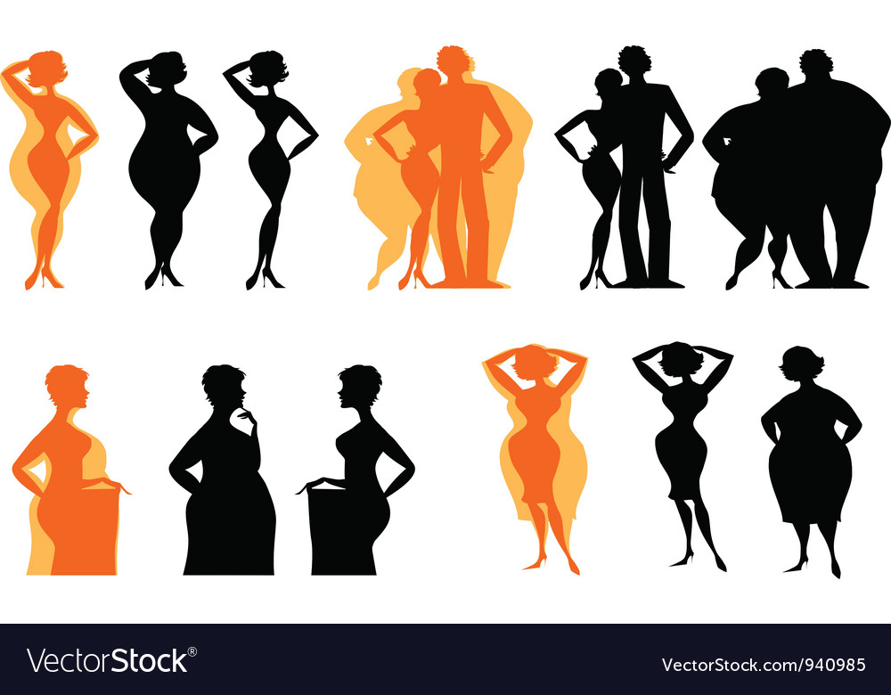Dieting silhouettes