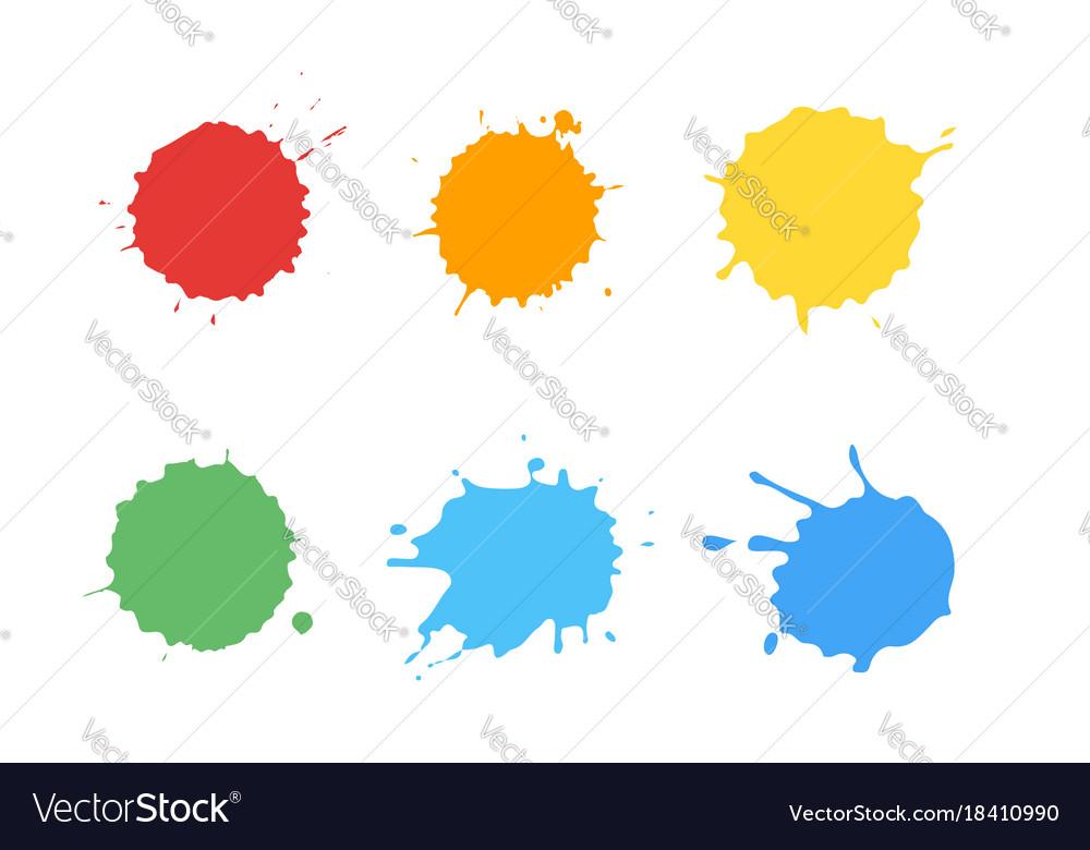 Ink splatter set