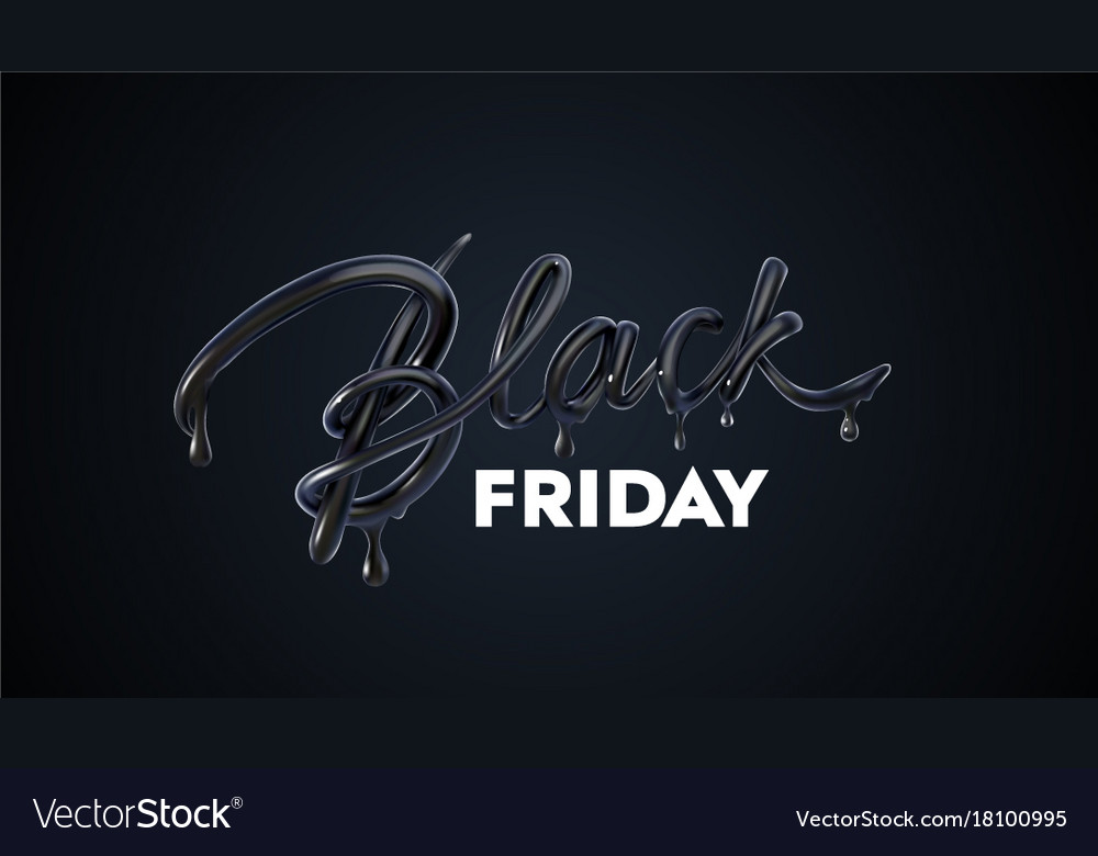 Black friday sale label ad