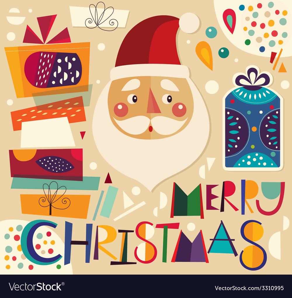 Christmas gifts and Santa