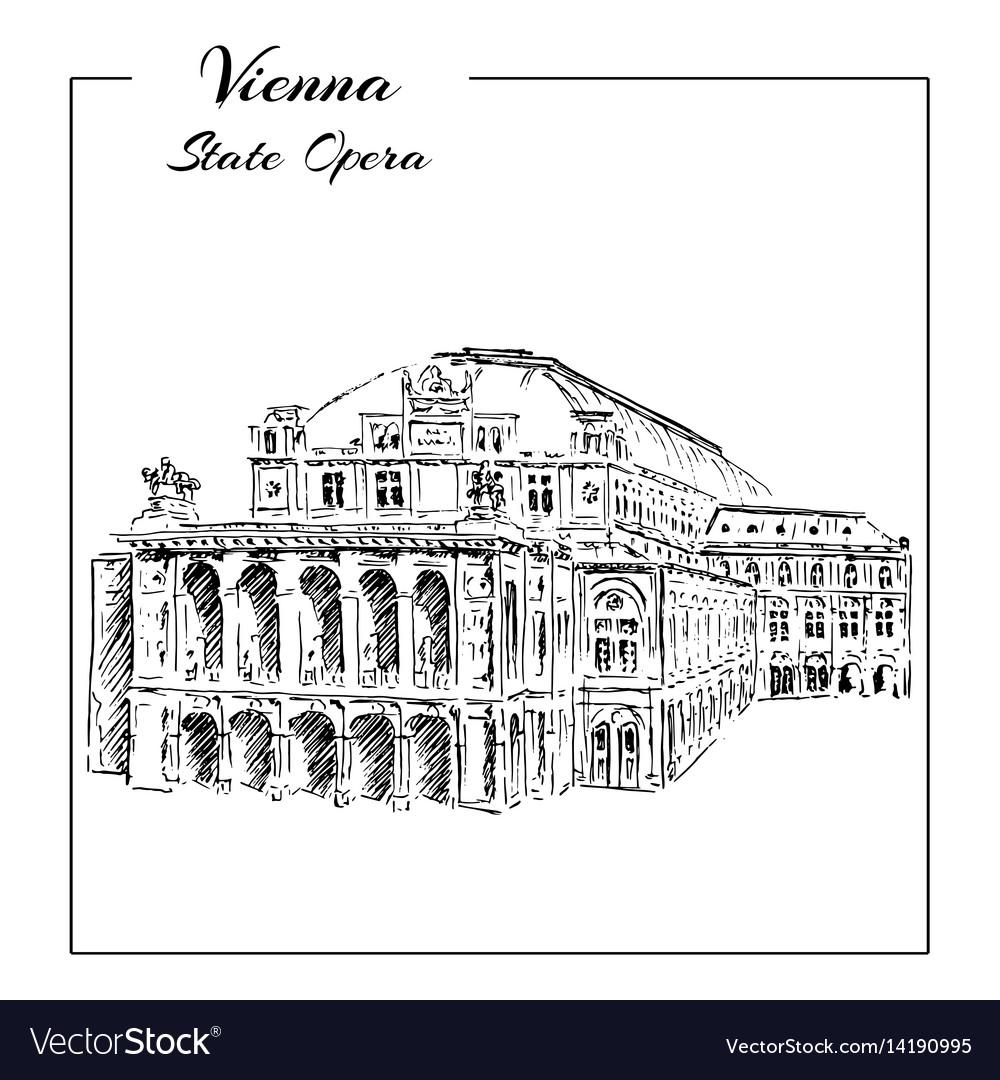 Vienna state opera house austria wiener