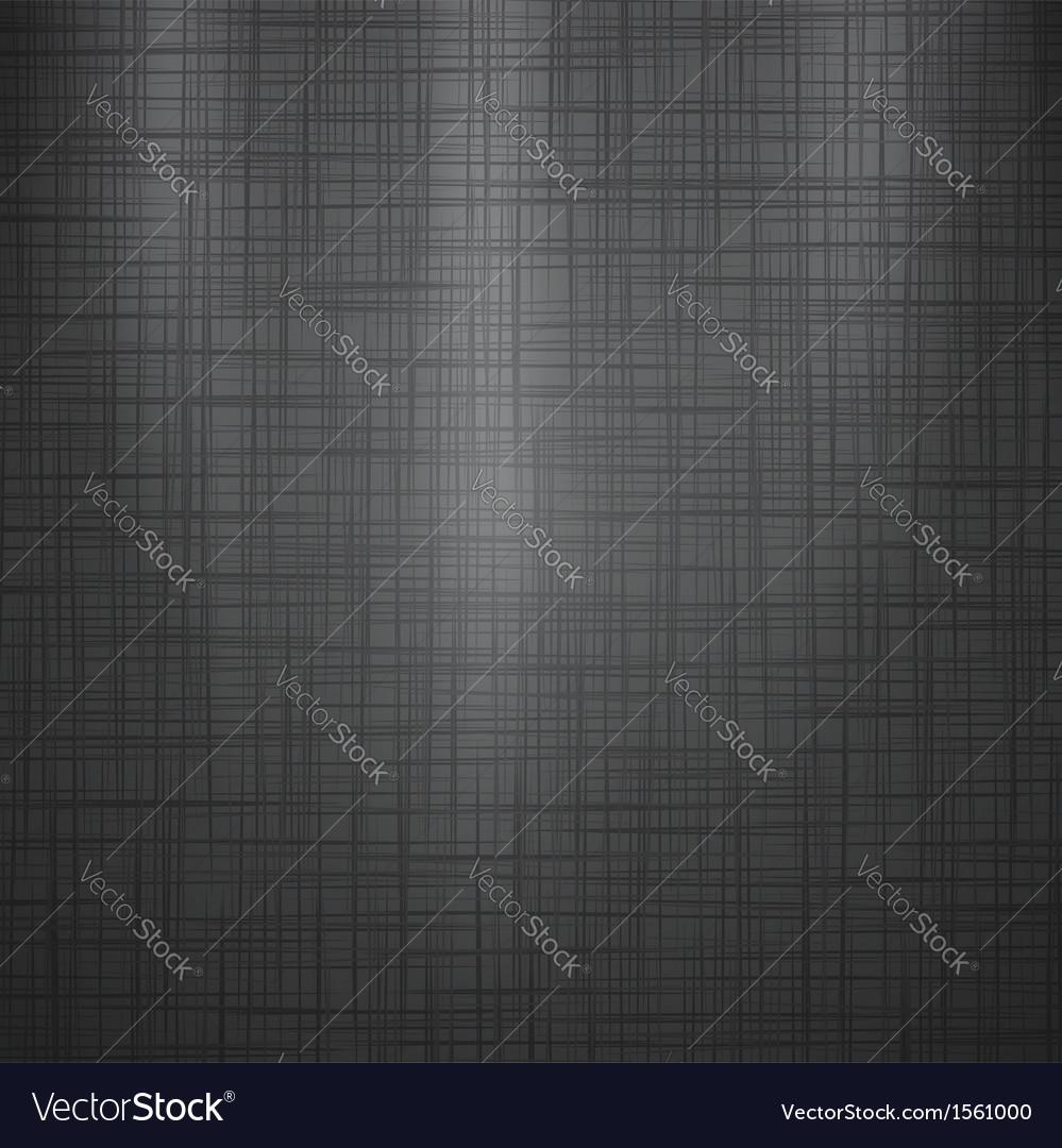 Dark Linen Background vector image