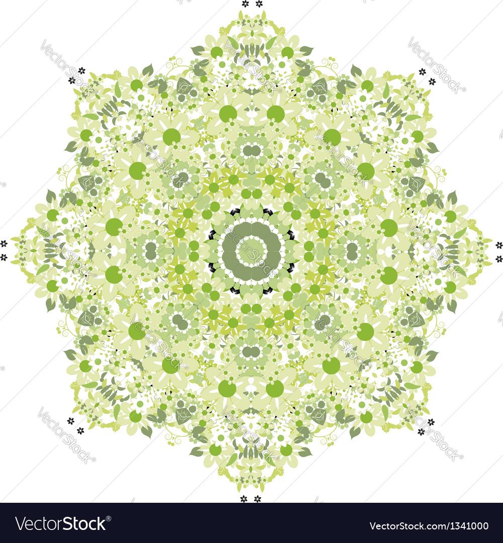 Floral pattern for your design spring concept