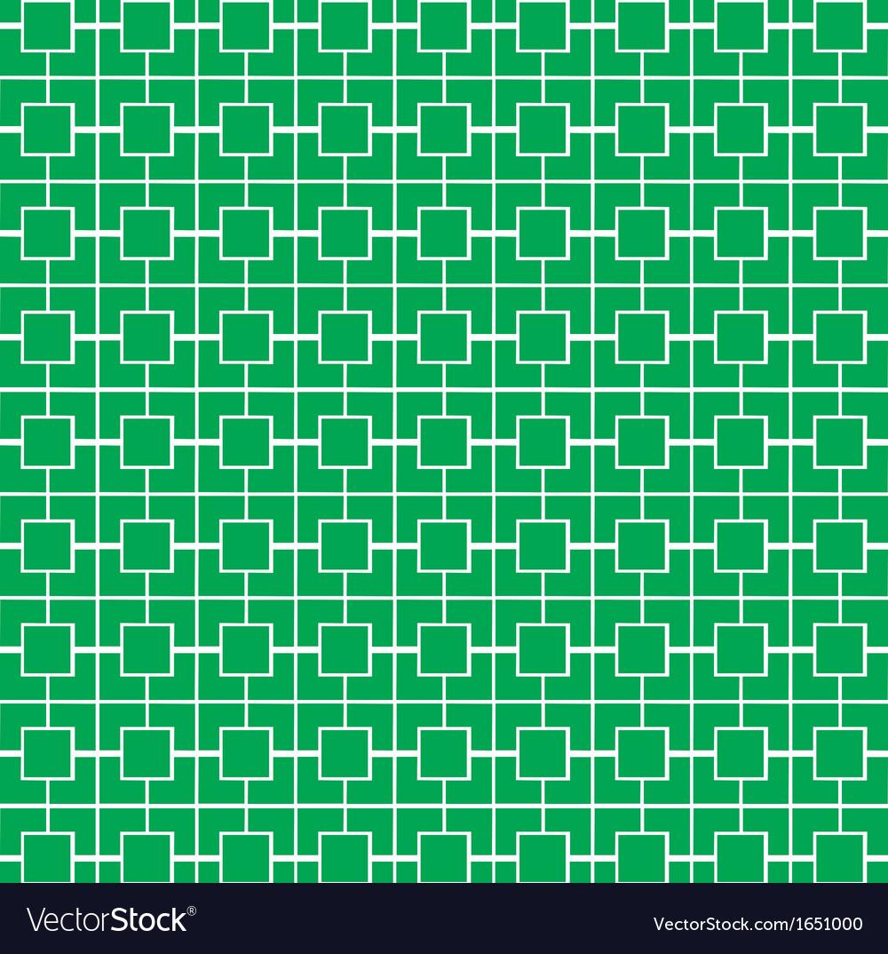 Green stripe pattern vector image