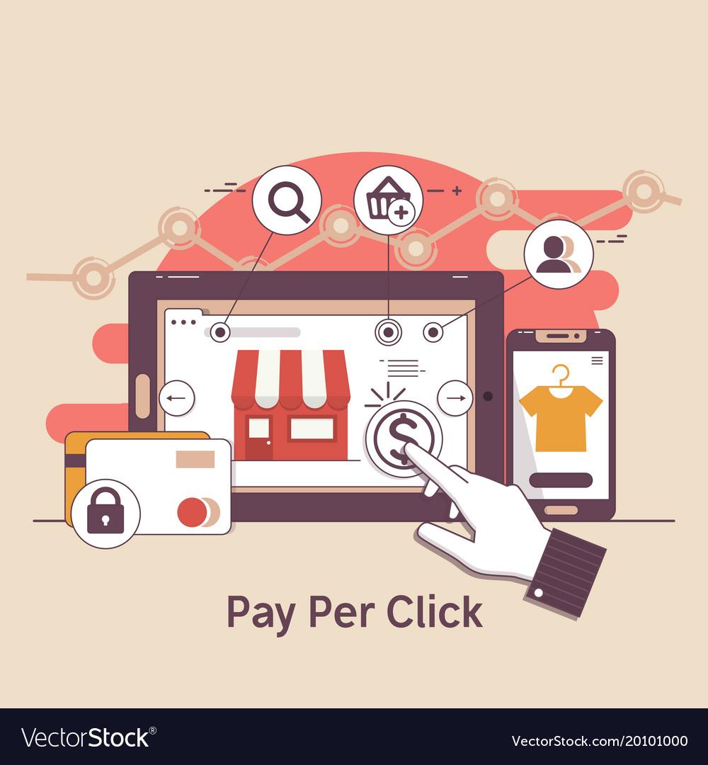 Pay per click online bankinginternet marketing