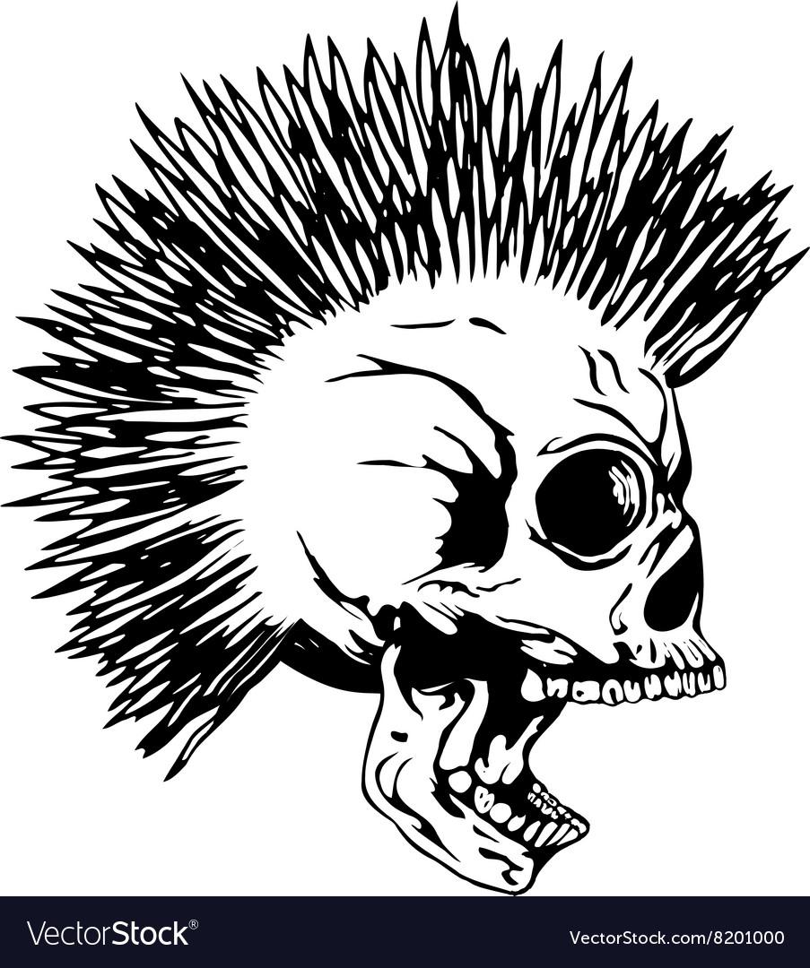 Skull punk2