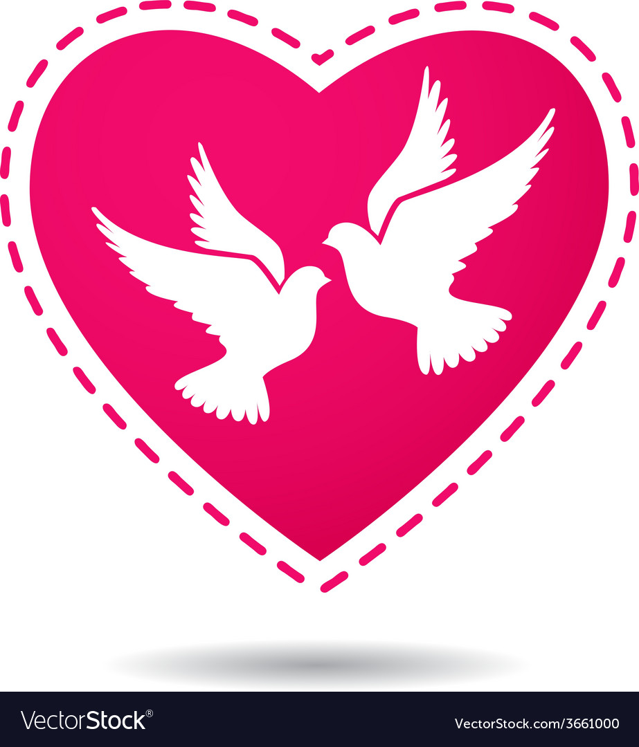 Dove & Frame Vector Images (over 730)