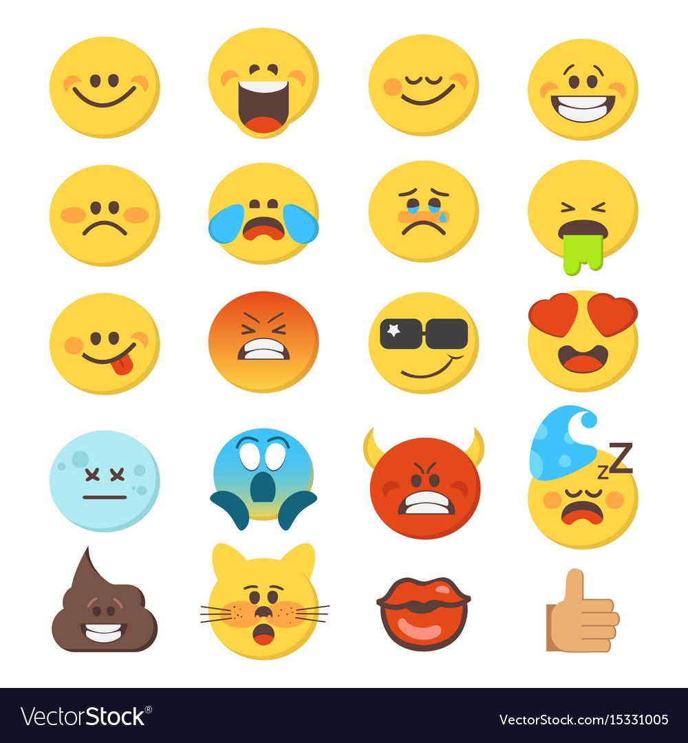 Cartoon emoji premium collection