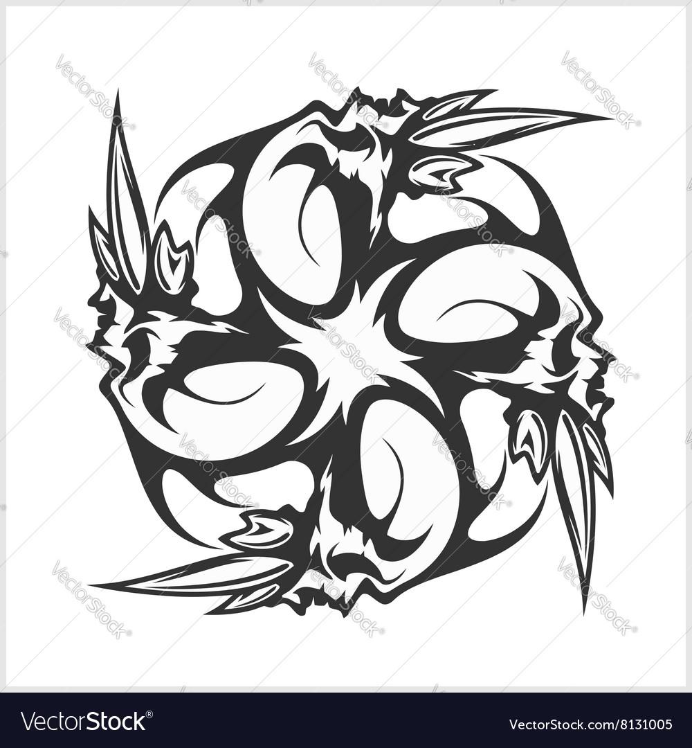 Skulls T Shirt Design Logos Royalty