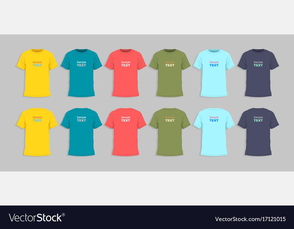 Mens tshirt design templat