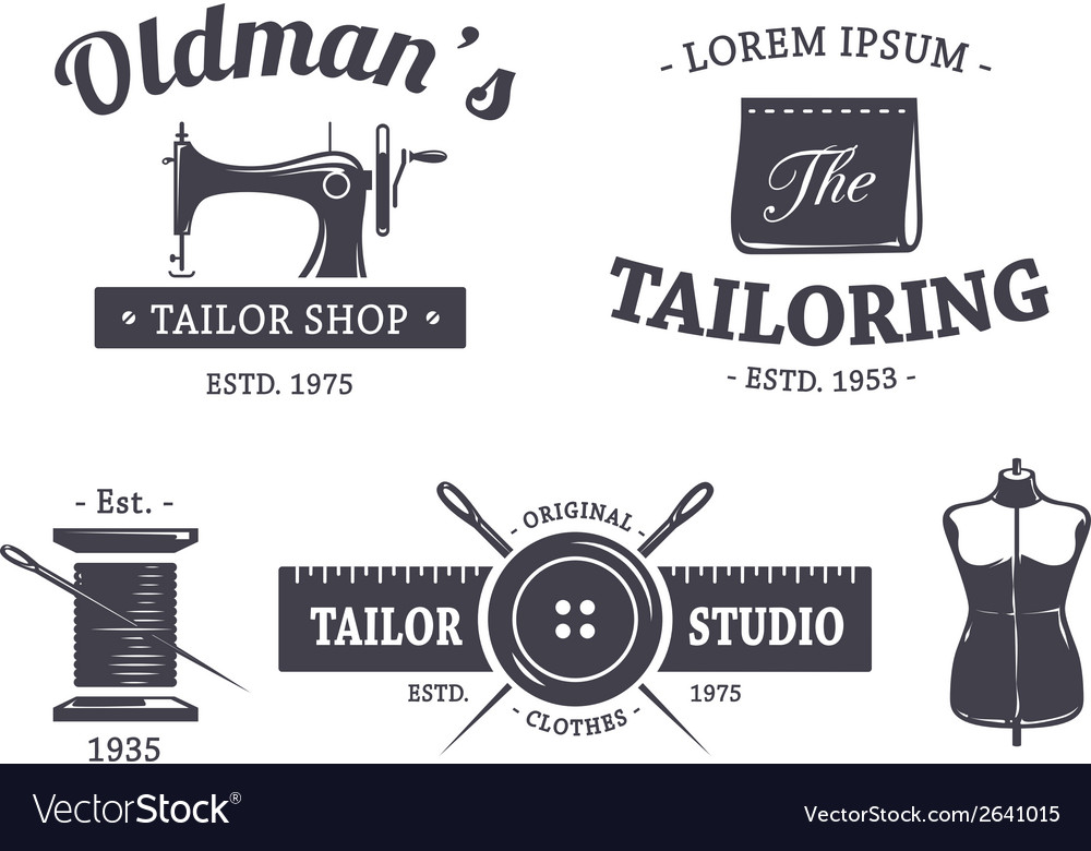 Tailor Emblems 1