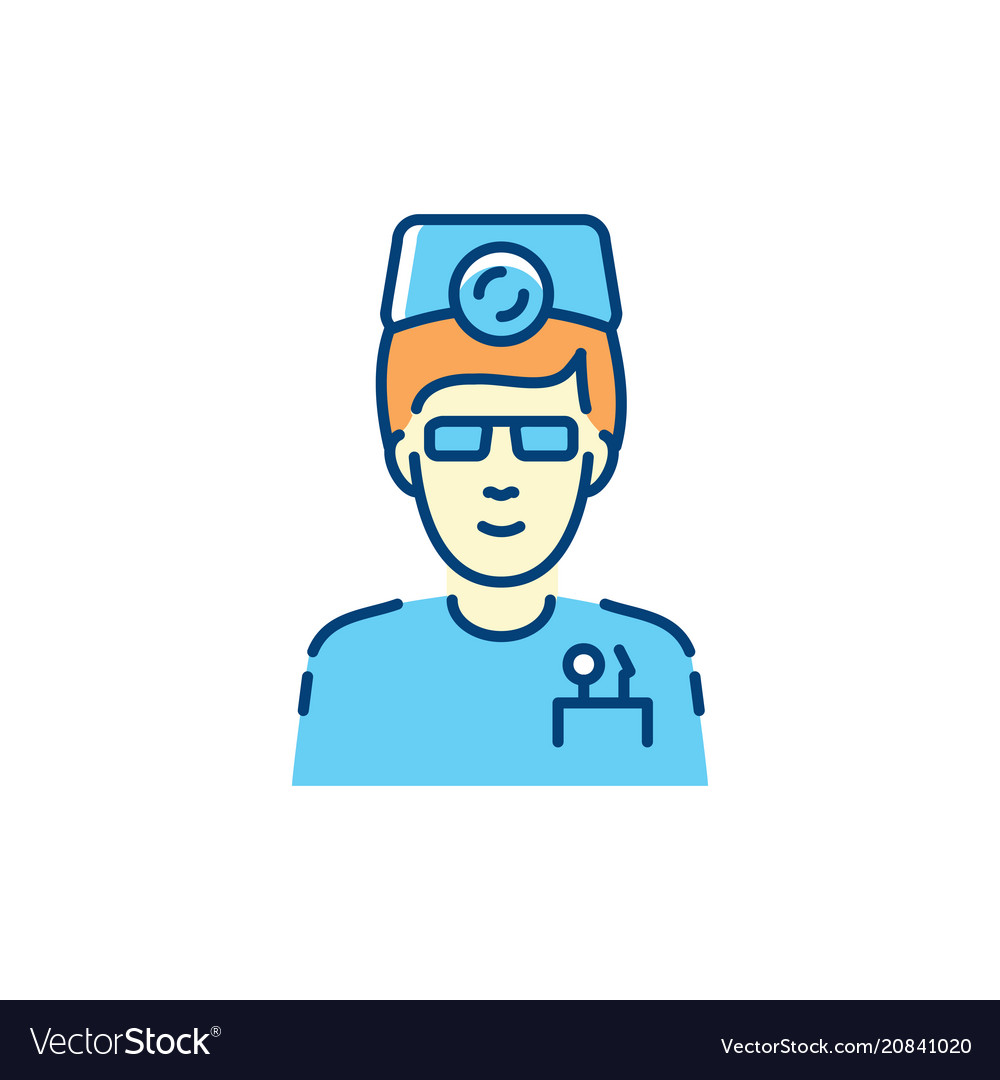 Dentist icon dental surgeon therapist and