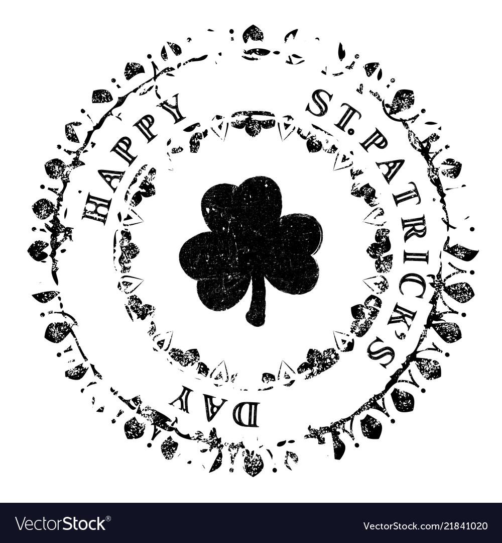 Patrick grunge stamp v4