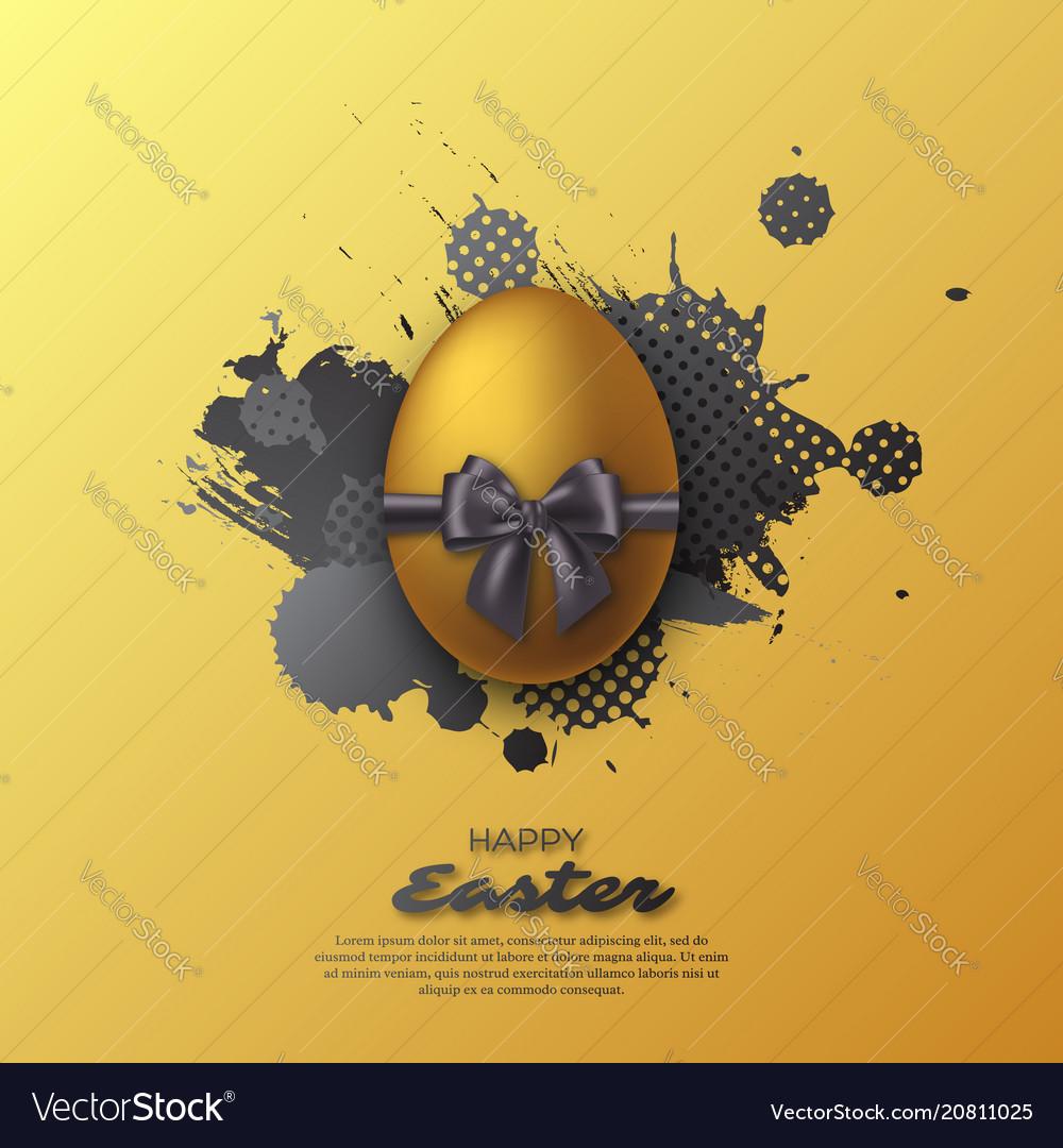 Easter golden egg