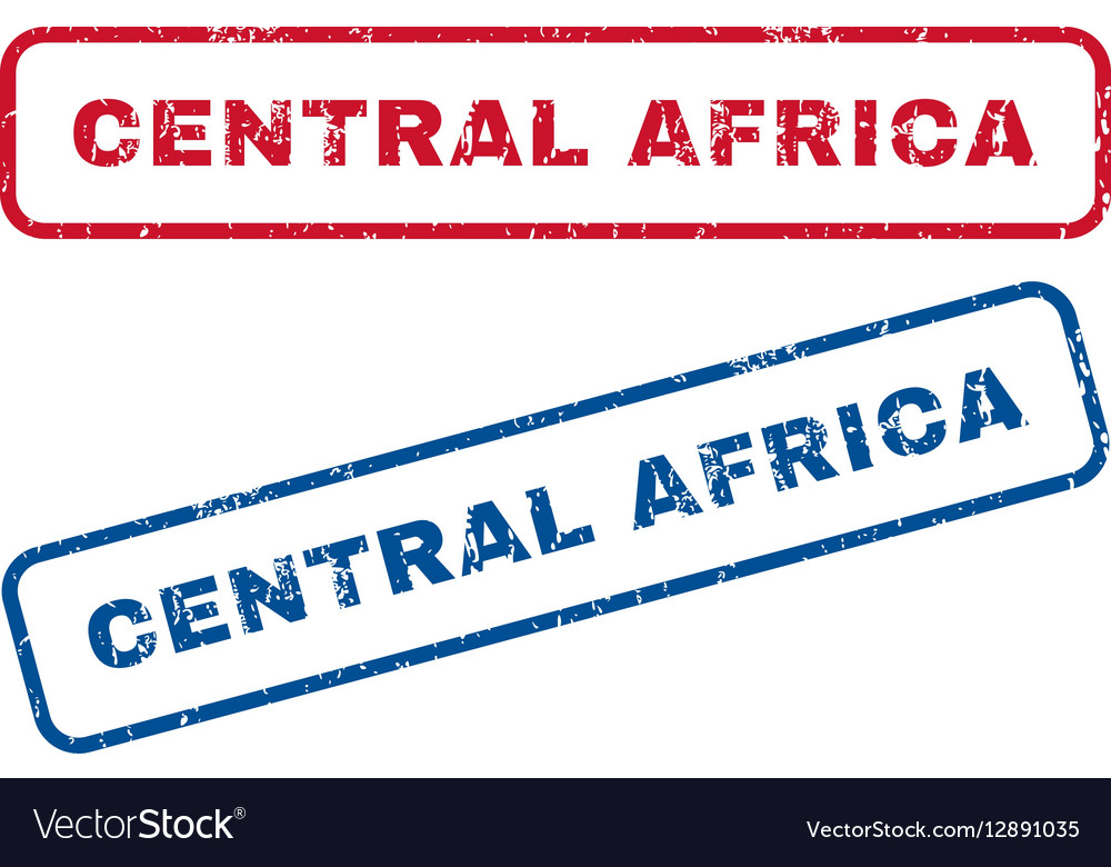 Central Africa Rubber Stamps