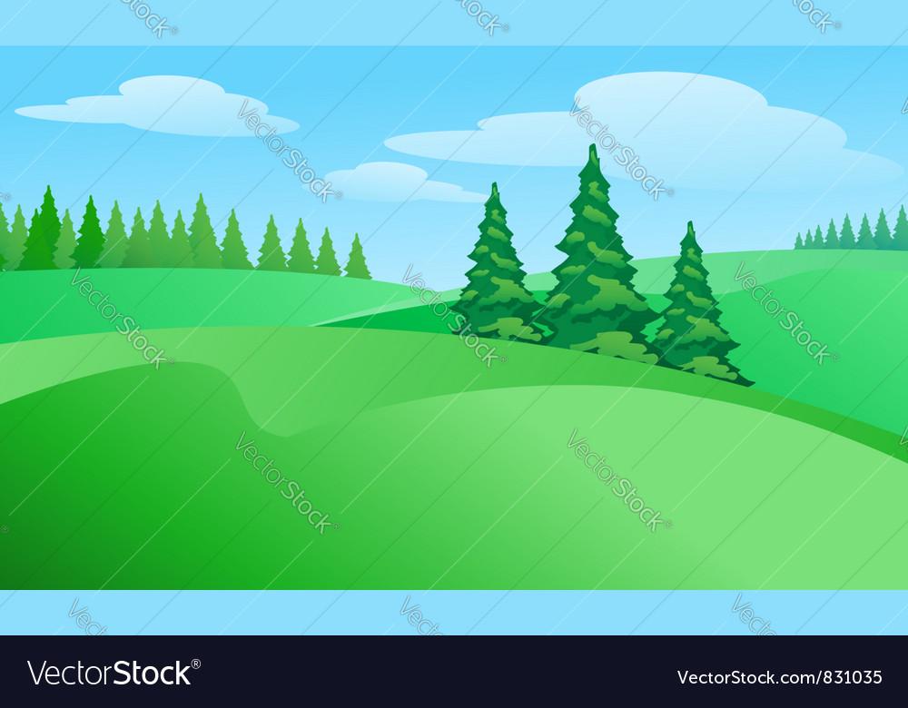 Field landscape