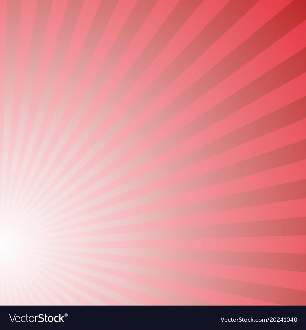 Asymmetrical abstract gradient sun burst pattern vector image