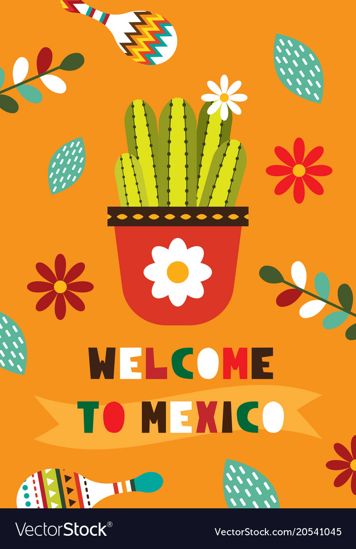 Mexican folk card invitation royalty free vector image mexican folk card invitation vector image stopboris Image collections