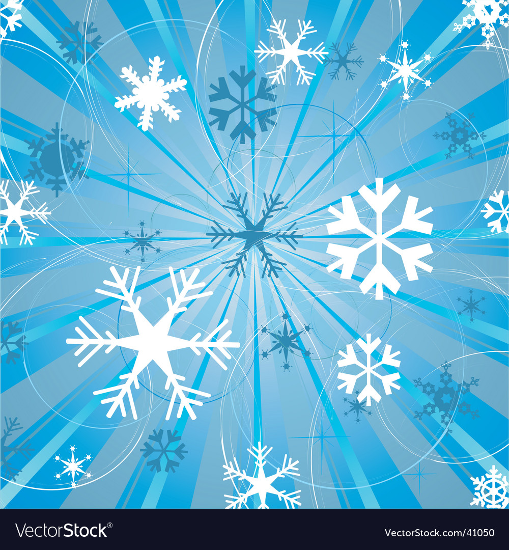 christmas snowflakes background royalty free vector image