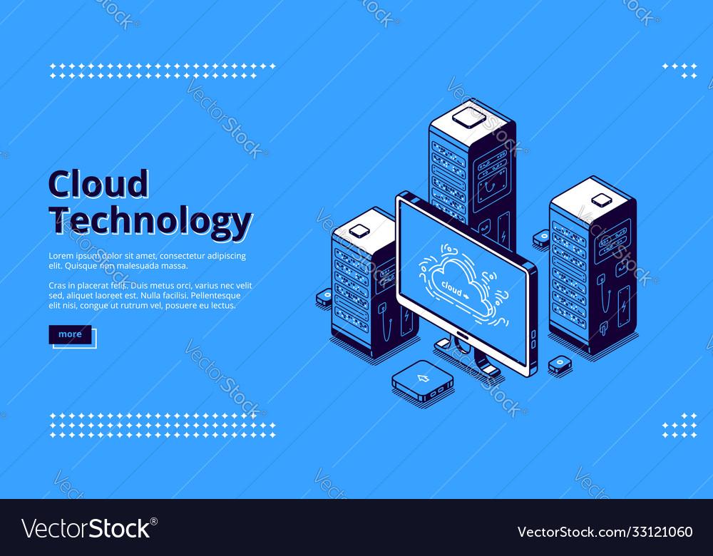 Banner cloud technology