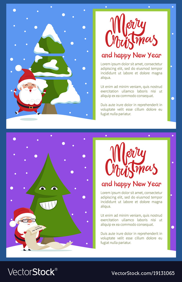 Merry christmas and text
