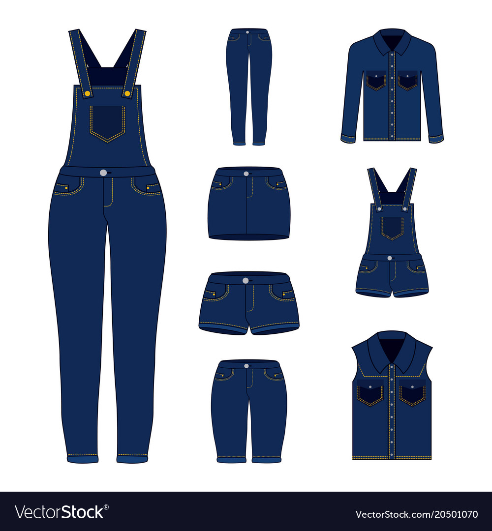 Embroidery patch denim