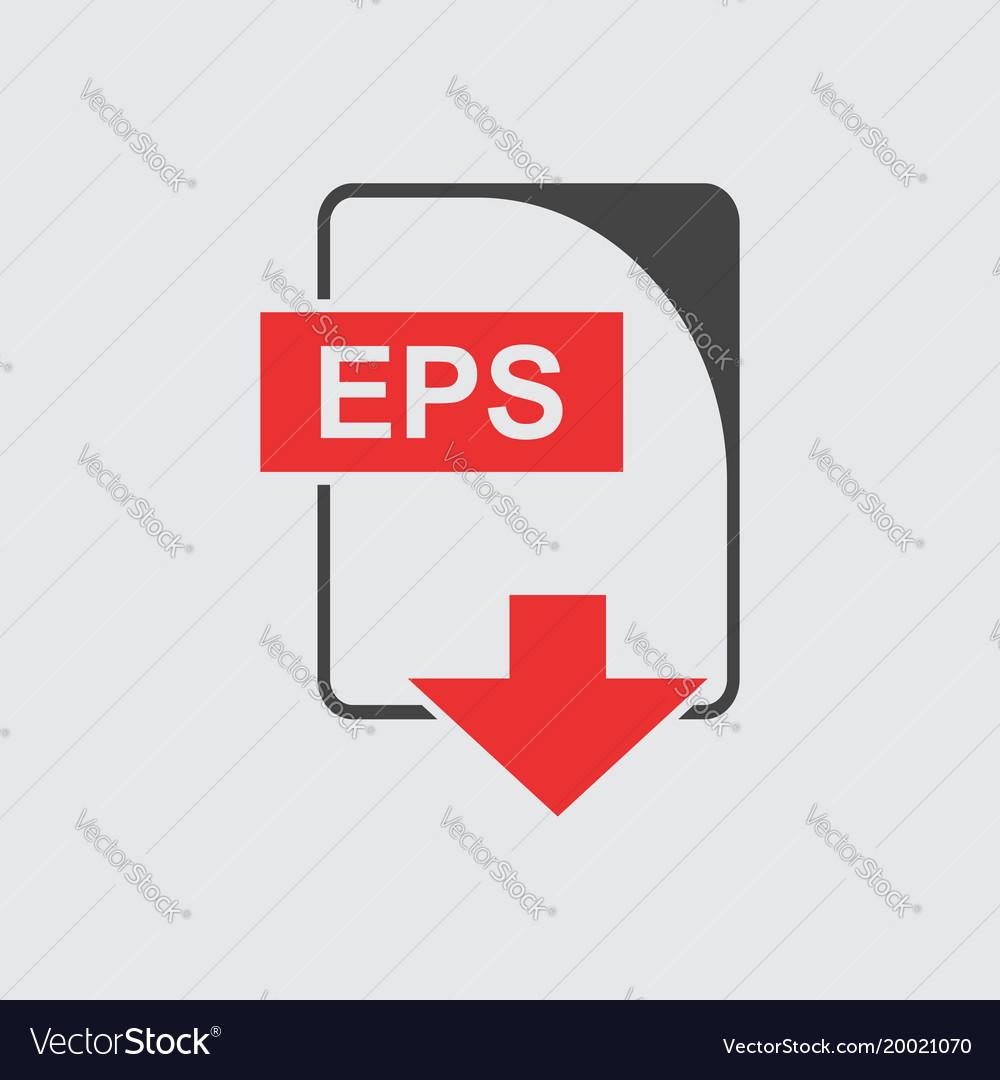 Eps icon flat