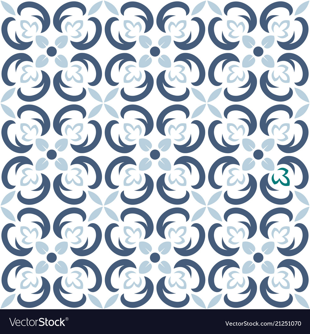 Seamless tile pattern endless texture can