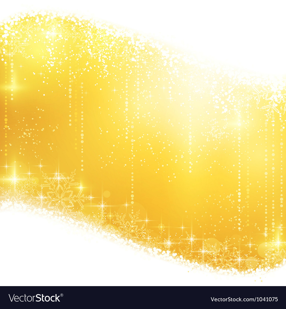 Golden sparkling Christmas background