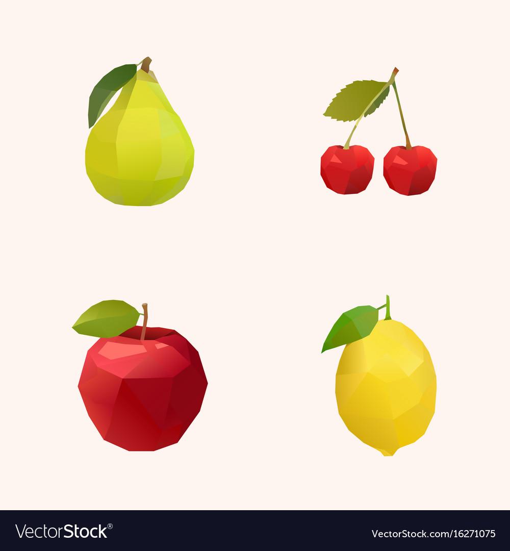 Peak cherry apple and lemon