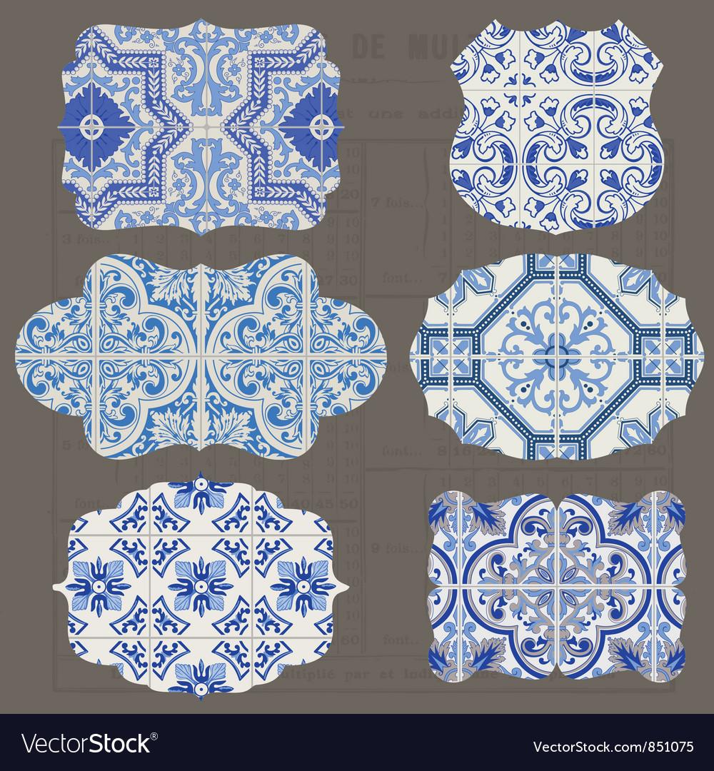 Vintage Tiles Design elements