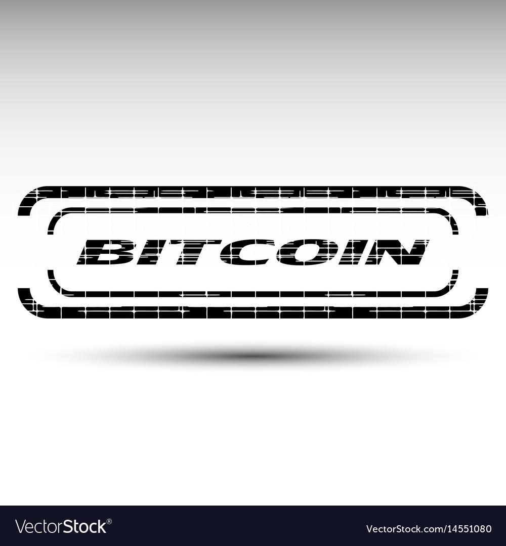 Of bitcoin emblem