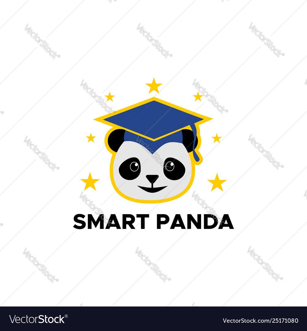 Smart panda logo