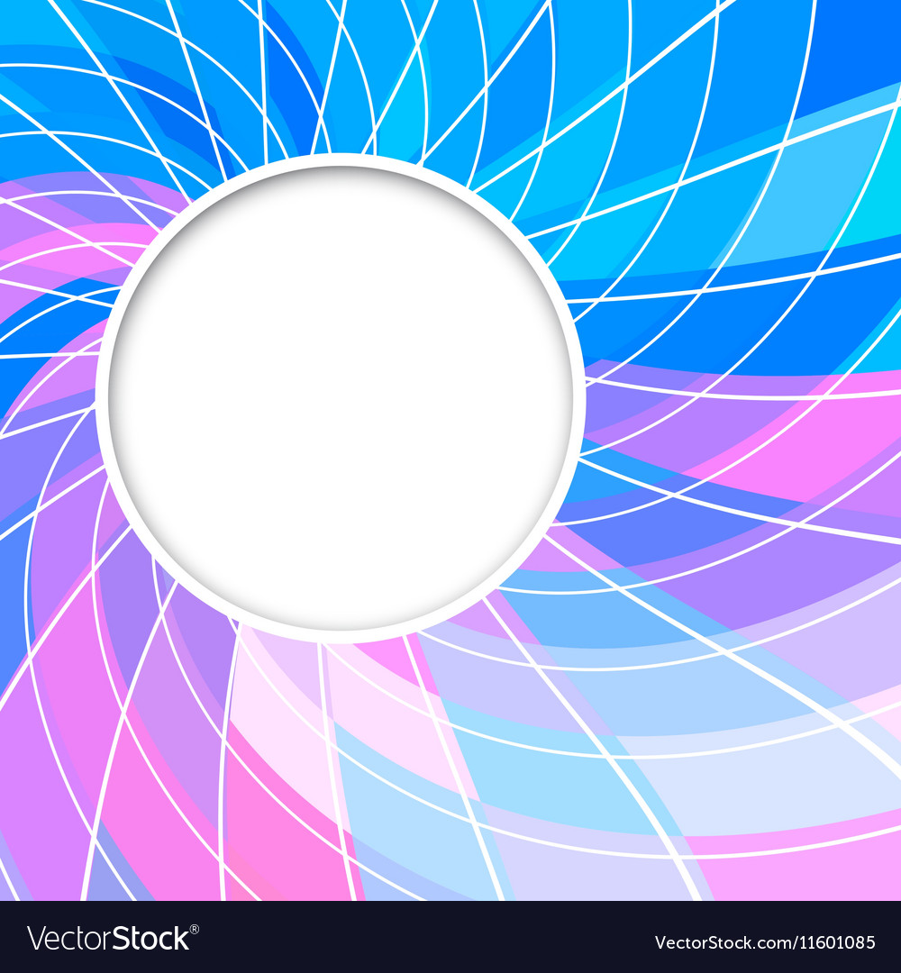 Abstract background Round frame
