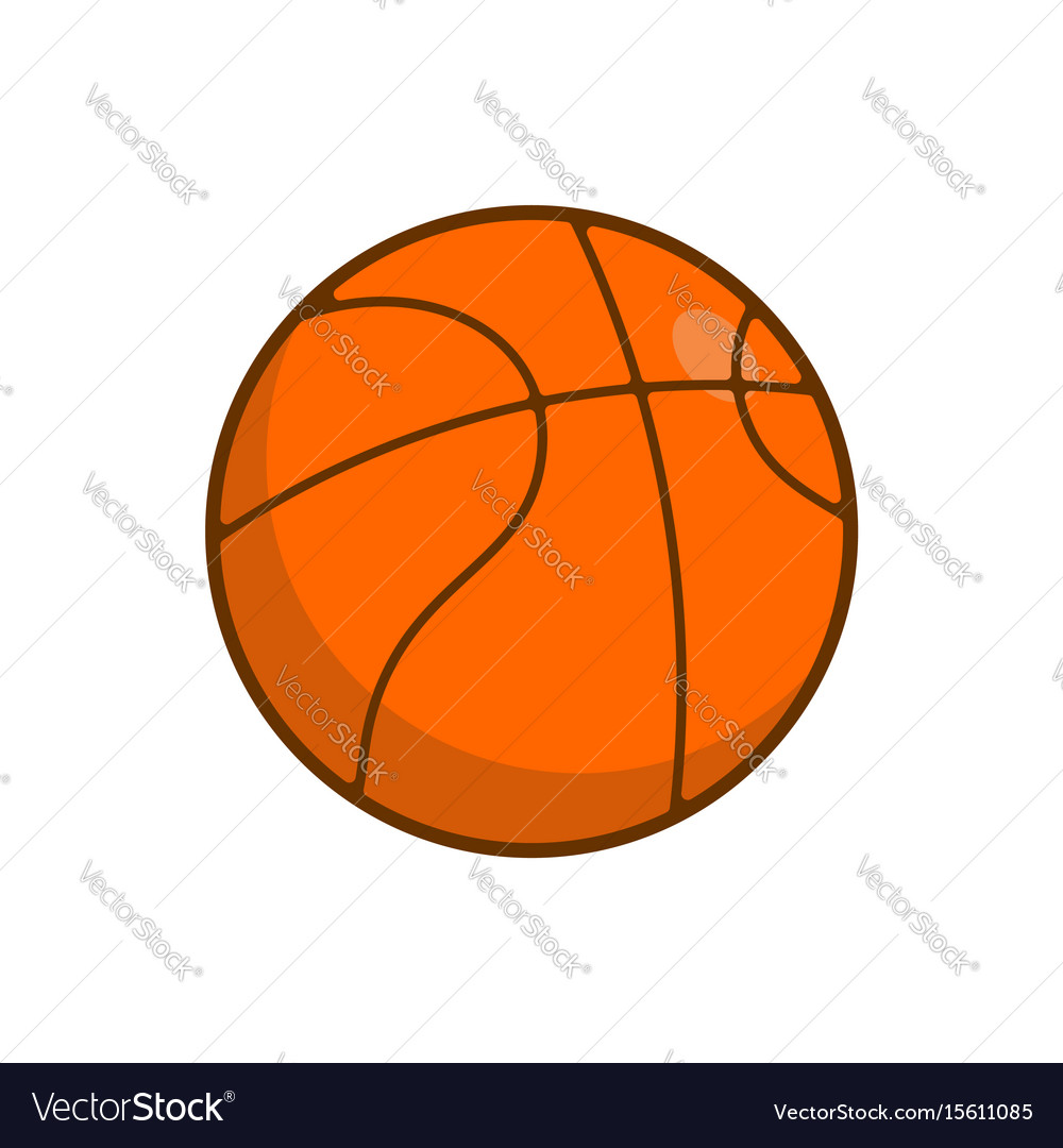 Basketball ball isolated balls for games on white