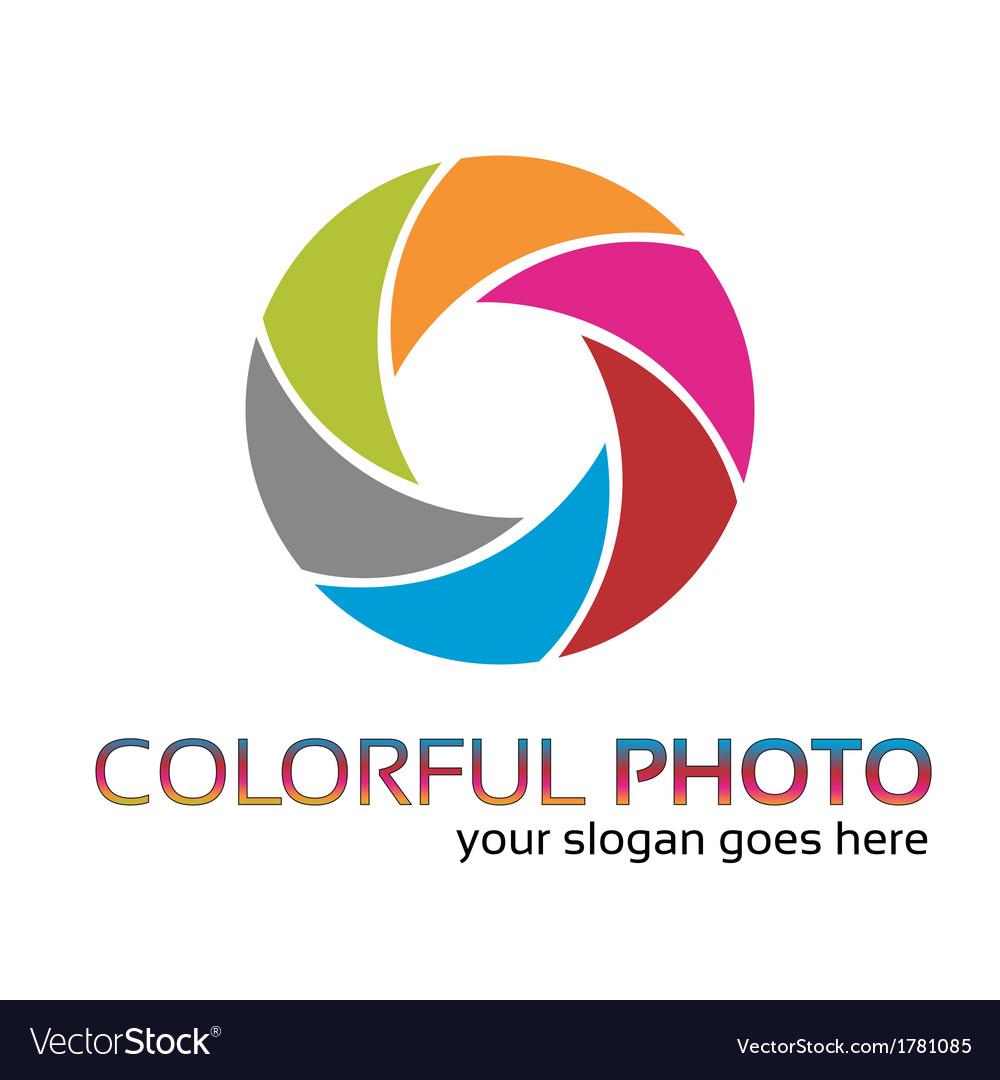 Colorful foto logo