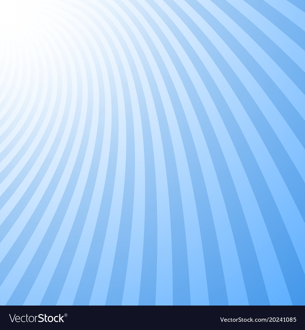 Geometric swirl background from spinned rays vector image