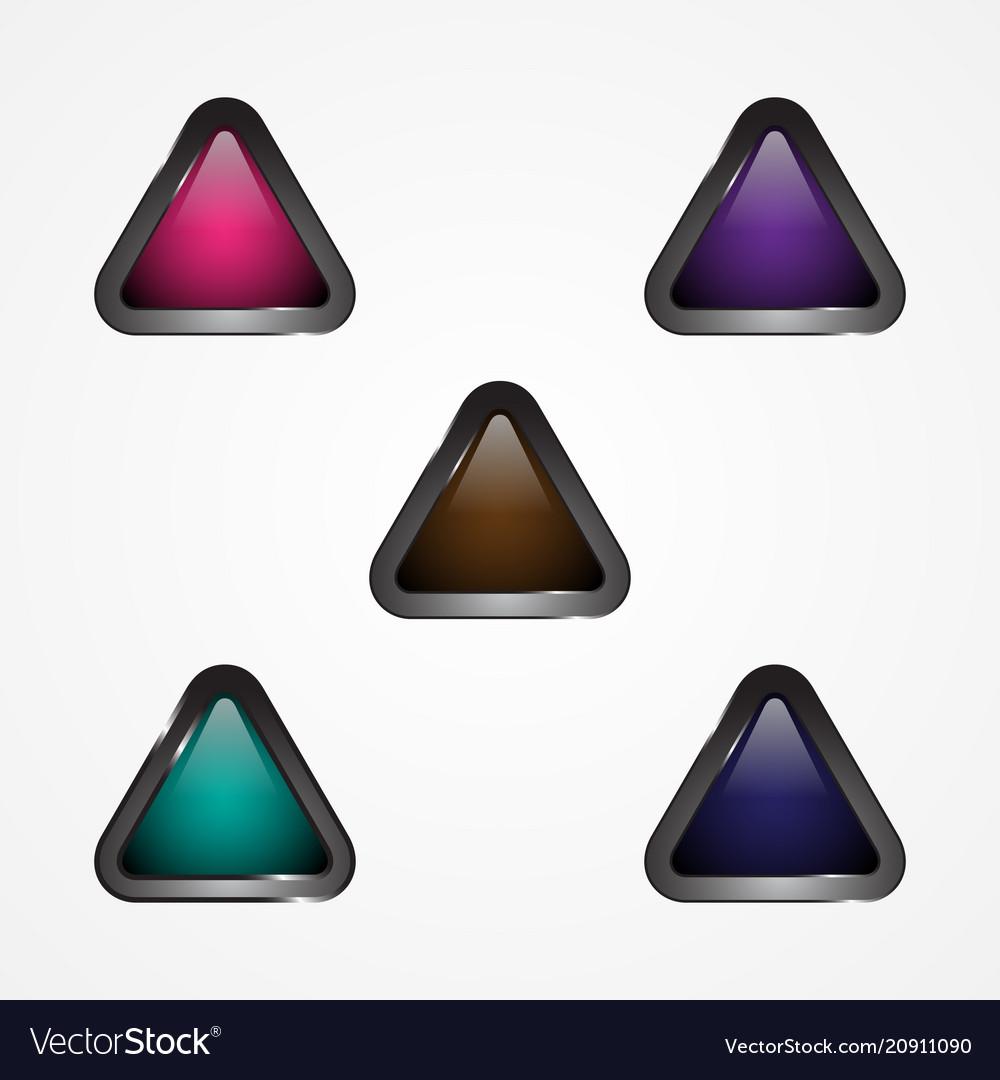 Button triangle